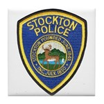 Stockton Police Tile Coaster