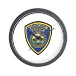 Stockton Police Wall Clock