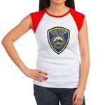 Stockton Police Women's Cap Sleeve T-Shirt