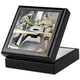 US ARMY Mechanic Keepsake Box