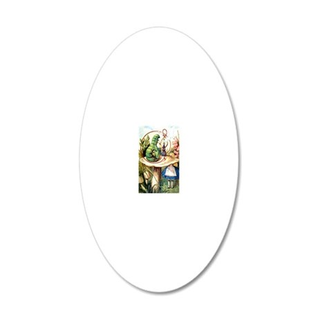 ALICE_8_10x14 20x12 Oval Wall Decal