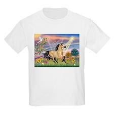 Cloud Star & Buckskin horse Kids T-Shirt