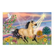 Cloud Star & Buckskin horse Postcards (Package of