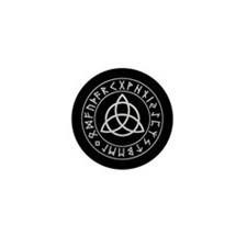 Triquetra Mini Button (10 pack)
