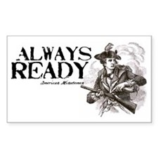 minutemen always ready Decal