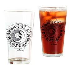 aztec year Drinking Glass