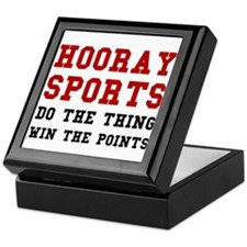 Hooray Sports Keepsake Box