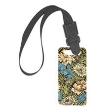 William Morris Chrysanthemum Small Luggage Tag