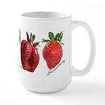 Strawberries Large Mug