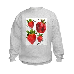 Strawberries Kids Sweatshirt