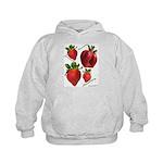 Strawberries Kids Hoodie