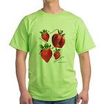 Strawberries Green T-Shirt