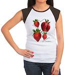 Strawberries Women's Cap Sleeve T-Shirt