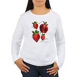 Strawberries Women's Long Sleeve T-Shirt