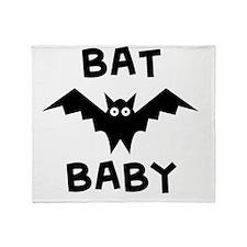 bat_baby Throw Blanket