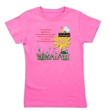 You Are My Sunshine Grandaughter Girl's Tee