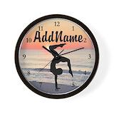 Gymnastic Wall Clocks
