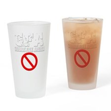 gfa-nade-white Drinking Glass