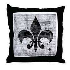Fleur de Lys Throw Pillow
