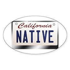 california_licenseplates-native2 Decal