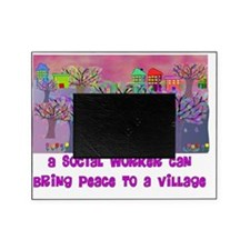 Village Social Worker Picture Frame