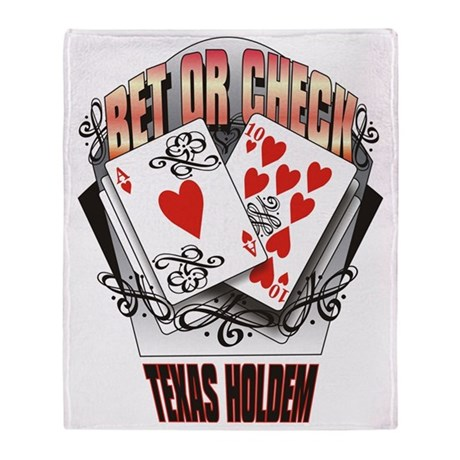 texas holdem check