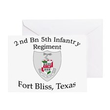 2nd Bn 5th Inf Greeting Card