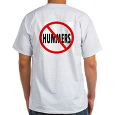 No HUMMERS----Ash Grey T-Shirt