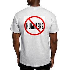No HUMMERS----Ash Grey T-Shirt