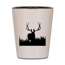 Shadow bucks Shot Glass