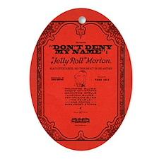 bookcover Oval Ornament