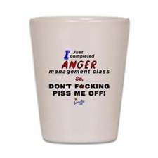 Anger Shot Glass