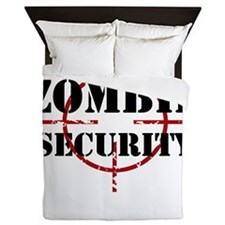 Zombie Security Queen Duvet
