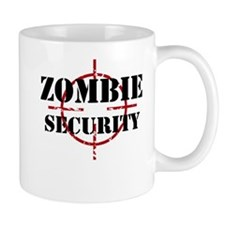 Zombie Security Mugs