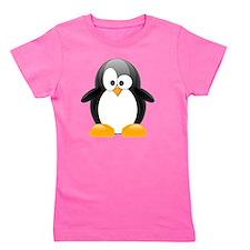 my penguin black  Girl's Tee