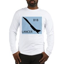 (14) B1 Silhouette 2 Long Sleeve T-Shirt