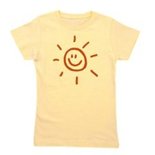 sun_2010_drawn Girl's Tee