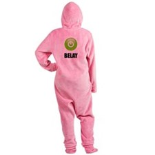 On Belay Footed Pajamas