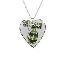 Grenade Free Zone Necklace