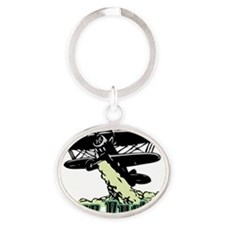 cropduster Oval Keychain