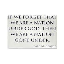 Reagan_nation-under-god-(white-sh Rectangle Magnet