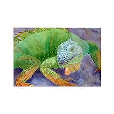 iguana-upsize Rectangle Magnet