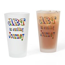 2-ART Drinking Glass