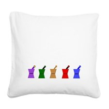 PharmD Proud Parent Square Canvas Pillow