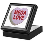 Mega Love Valentine Candy Heart Keepsake Box