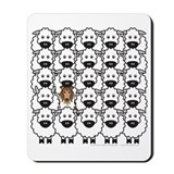 Collie and Sheep Mousepad