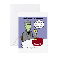 Frankensteins Muenster Greeting Cards (Pk of 10)