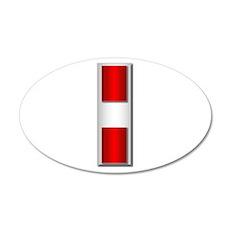 USMC - CW3 - No Txt 20x12 Oval Wall Decal