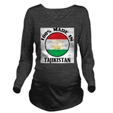 Made In Tajikistan Long Sleeve Maternity T-Shirt
