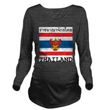 Thailand Long Sleeve Maternity T-Shirt